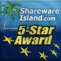 Awards From SharewareIsland.com.